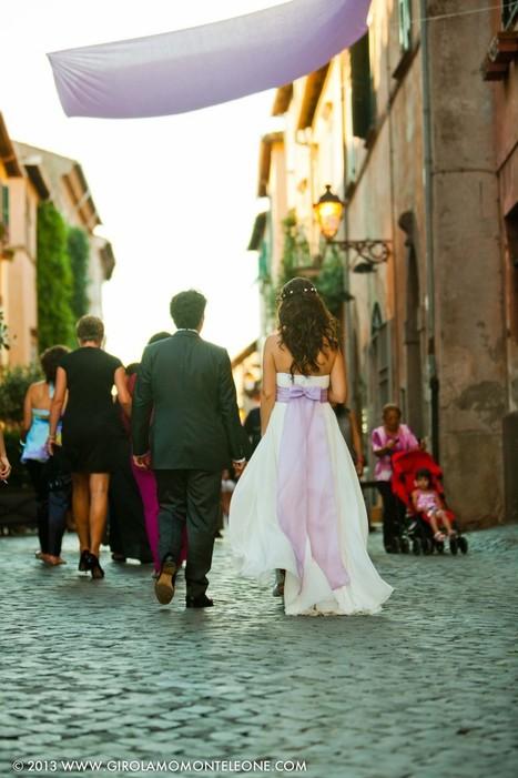 TUSCANIA – SERGIO & ELISABETTA WEDDING | abito da sposa | Scoop.it