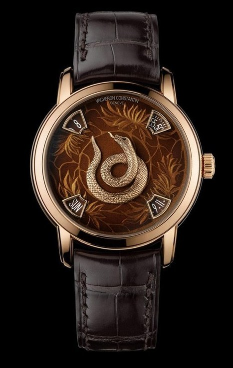 Vacheron Constantin with a new series of luxury watches | scatol8® | Scoop.it