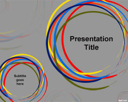 Color Circles PowerPoint Template | Free Powerpoint Templates | Lean Content and Visual Narrative | Scoop.it