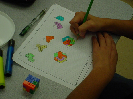 Puzzle Cube Design Projects | Teaching SolidWorks | Scoop.it