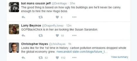 Twitter : L'engagement influe sur l'ordre des tweets | Geeks | Scoop.it