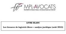 Publication d'un Livre Blanc sur le logiciel libre par le cabinet MPL-Avocats, Août 2012 | MPL Avocats | Les Livres Blancs d'un webmaster éditorial | Scoop.it