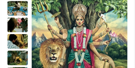 'Abused Goddesses' Shows Shocking Images Of Hindu Deities For Campaign Against Domestic Violence In India   Health promotion. Social marketing   Scoop.it