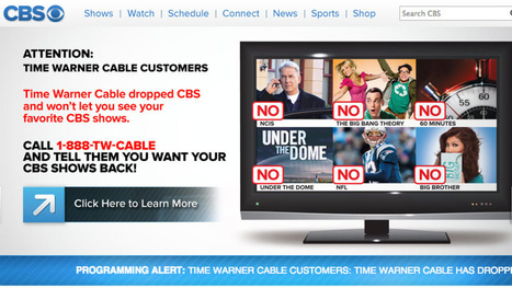 Time Warner Cable and CBS Make Up Just in Time for NFL Season | An Eye on New Media | Scoop.it