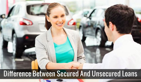 The Difference Between Secured and Unsecured Debt | Interesting Archives | Scoop.it