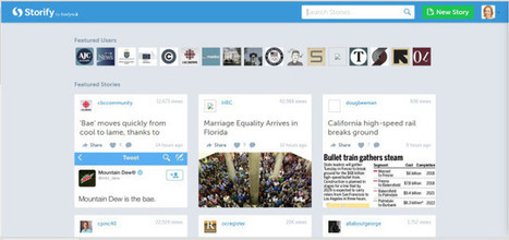 A Step By Step Guide To Digital Storytelling With Storify | Curation and Libraries and Learning | Scoop.it