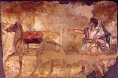 Paestum: Los carabinieri encuentran una tumba samnítica del siglo IV-III a.C. con magníficos frescos | Mundo Clásico | Scoop.it