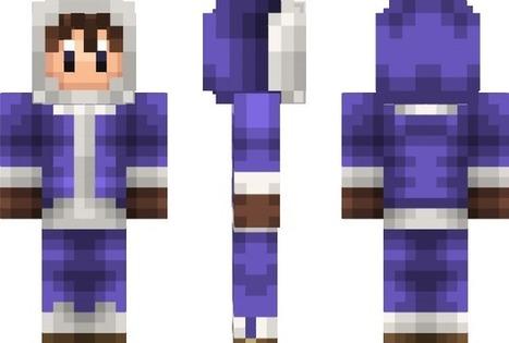 PixeledMe Minecraft | Popo, the Ice Climber Minecraft Skin | gameing | Scoop.it