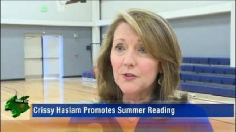 Crissy Haslam to promote summer reading programs | Tennessee Libraries | Scoop.it