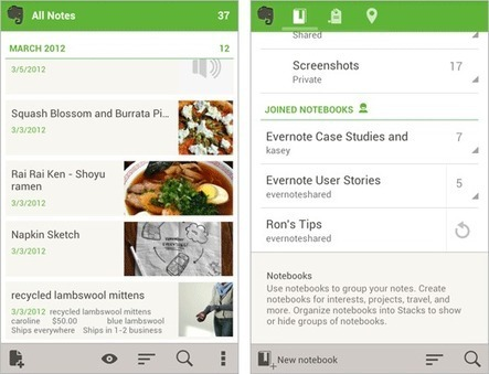 Evernote 4.0 for Android Launches | Business Tools and Apps | Scoop.it