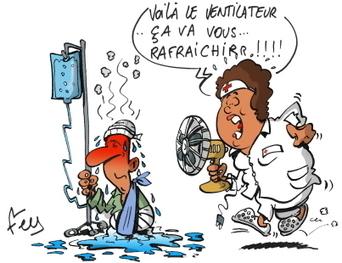 Dans les hôpitaux des HCL, seule la moitié des lits sont « rafraîchis » | Hospices Civils de Lyon | Scoop.it
