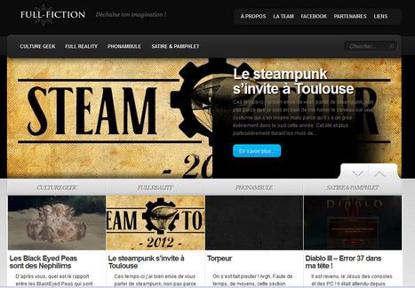 FULL FICTION : Déchaine ton imagination ! | Jeux de Rôle | Scoop.it