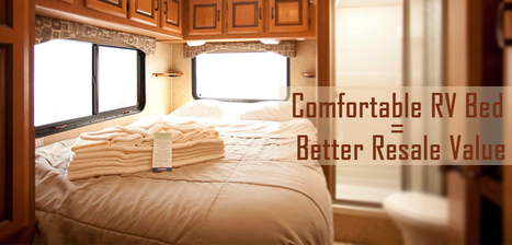MAKE YOUR RV BED MORE COMFORTABLE BEFORE YOU SELL YOUR RV   RV   Scoop.it