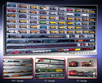 Model Train Display Cases Available For Sale | Best Wall Mounted Glass Display Cases | Scoop.it