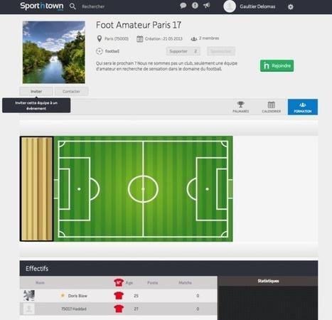 SportinTown - Un nouveau réseau social sportif | Time to Learn | Scoop.it