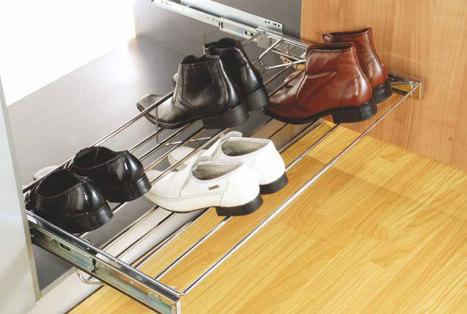 Adj-Shoe-Rack-Pull-out   Modular-Kitchen   Scoop.it