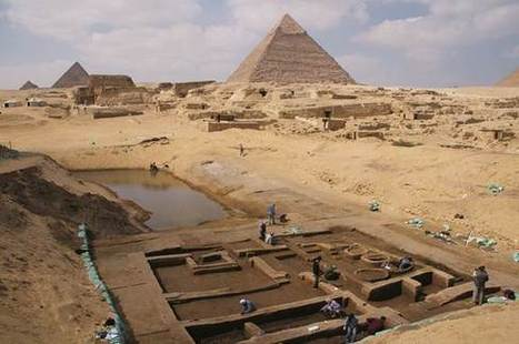 Ruins of barracks, port unearthed at Egypt's Giza Pyramids - NBCNews.com | Ancient Cultures | Scoop.it
