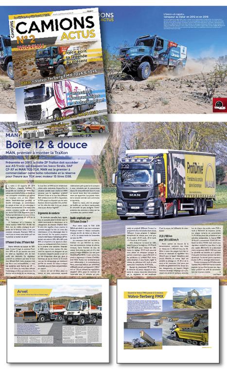 Des camions plein les yeux avec Camions Actus 2 - truck Editions | Truckeditions | Scoop.it