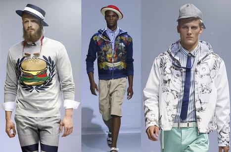 Menu of Hamburger Prints and Denim Ends Milan Men's Fashion Week - BoF - The Business of Fashion | Burger_EN | Scoop.it