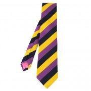 Eton Mens Purple Block Stripe Silk Tie - Ties from Psyche UK   men's ties   Scoop.it