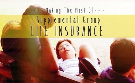 Making the Most of Supplemental Group Life Insurance | Holistic Financial Planning | Scoop.it