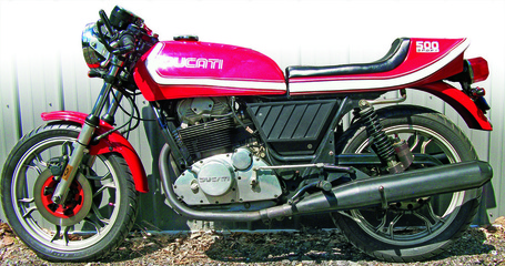 Retrospective: Ducati Sport Desmo 500: 1977-1982 | Ductalk | Scoop.it
