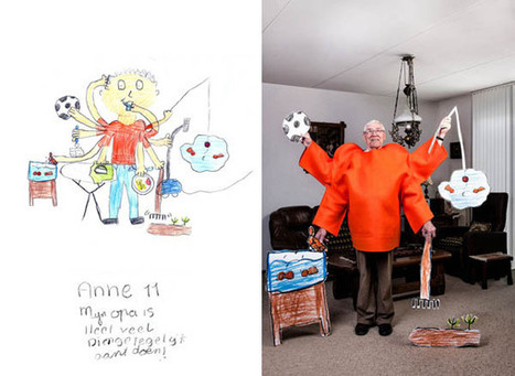 Grandparents Emulate Their Grandkids' Drawings Of Them In Quirky Photographs | What's new in Visual Communication? | Scoop.it