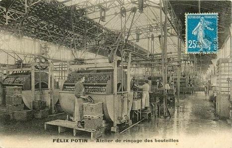 Félix Potin - Les ateliers de Pantin -  Rinçage de bouteilles | Paris, son histoire | Scoop.it
