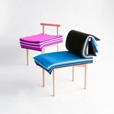 Pages Chair è la sedia da sfogliare di 6474 design   #Design   Scoop.it
