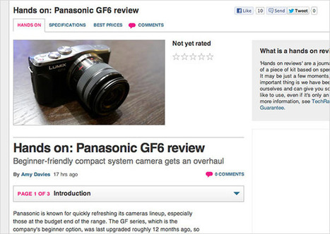 Panasonic Lumix GF6 Photos and Specs Leaked by Review Site   Product & Service Reviews   Scoop.it
