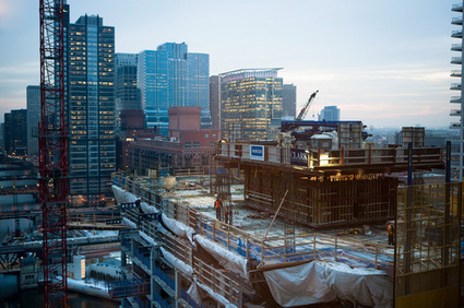 Mapping Chicago's 17 Highrises Under Construction Right Now - Curbed Chicago   construction   Scoop.it