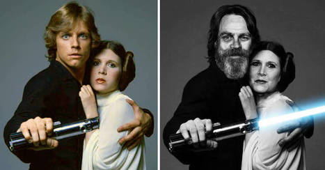 "These Then & Now Pics Of The Past And Present Stars Of ""Star Wars"" Are Beyond Cool 