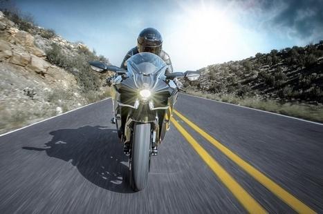 ZM : Florilège de photos de la Kawasaki H2R 2016   L'actu sociale des motards (par Zone-Motards.net)   Scoop.it