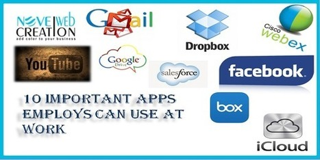 10 Important Apps Employs Can Use at Work | Novel Web Creation | mobile apps development | Scoop.it