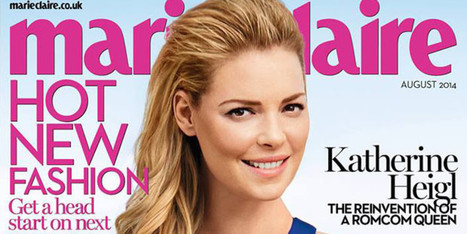 Katherine Heigl Looks Really Different On Marie Claire Cover - Huffington Post Canada | Clipping Path | Scoop.it