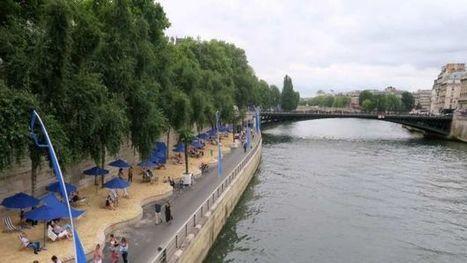 París inaugura playa a orillas del río Sena - Noticieros Televisa   Historia del Arte. Art History   Scoop.it