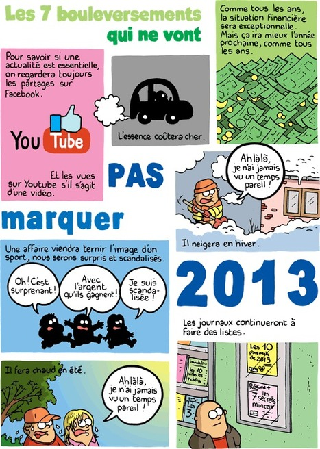 Les 7 bouleversements pour 2013 | Baie d'humour | Scoop.it