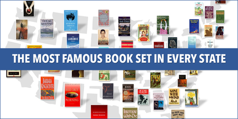 The Most Famous Book Set In Every State | Information Powerhouses | Scoop.it