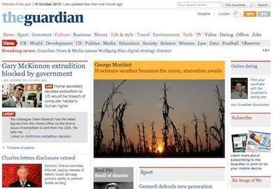 Guardian's digital revenue up 30% - Marketing Week | Musica, Copyright & Tecnologia | Scoop.it