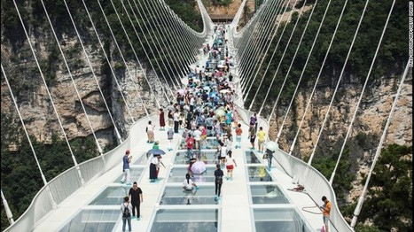 China opens highest and longest glass bridge | Real Estate Plus+ Daily News | Scoop.it