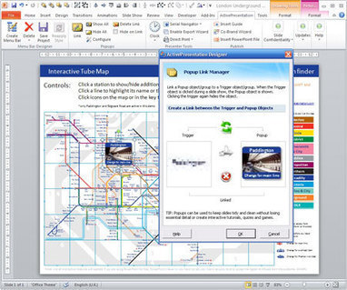 Building an Interactive Public Transport Map Application in PowerPoint | Communication narrative & Storytelling | Scoop.it
