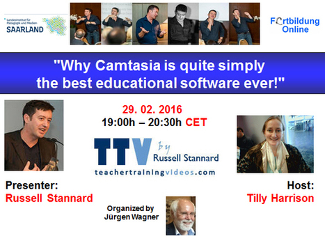 Globinars: Why Camtasia is quite simply the best educational software ever! | Linguagem Virtual | Scoop.it