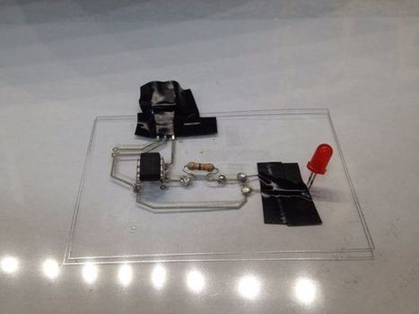 Print Conductive Circuits With An Inkjet Printer | Open Source Hardware News | Scoop.it