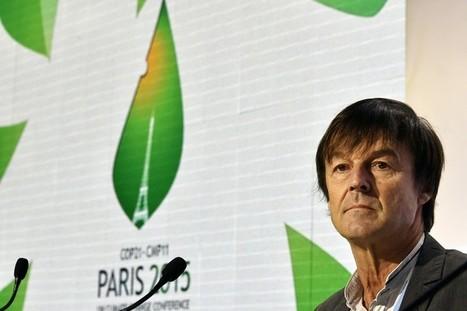 """COP21 : """"Le glas des énergies fossiles a été sonné"""", assure Nicolas Hulot   Home   Scoop.it"""