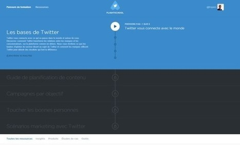 Twitter ouvre ses formations | Community management | Scoop.it