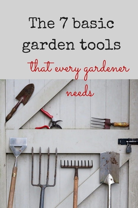 7 essential tools to make your gardening life really easy | Gardening | Scoop.it