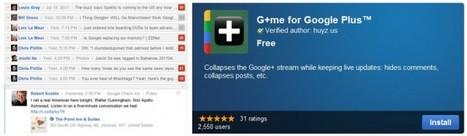G+me – Para facilitar la lectura de los datos en Google Plus | Google+, Pinterest, Facebook, Twitter y mas ;) | Scoop.it
