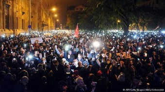 Hungary's protests are about more than Internet tax, says student protester | Europe | DW.DE | 28.10.2014 | real utopias | Scoop.it