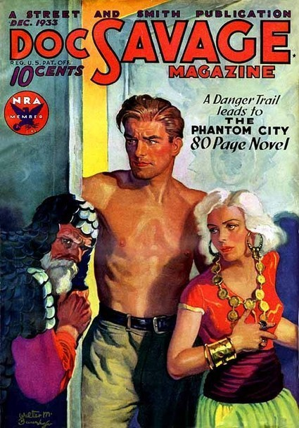 Pulp artist   Walter Baumhofer, king of the pulps   Vintage & images   Scoop.it