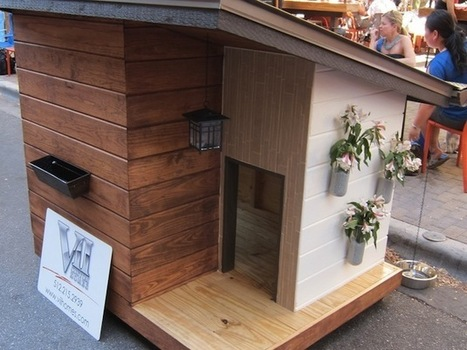 16 Dog House Designs To Keep Your Pooch Cool This Summer   Garden Designer   Scoop.it